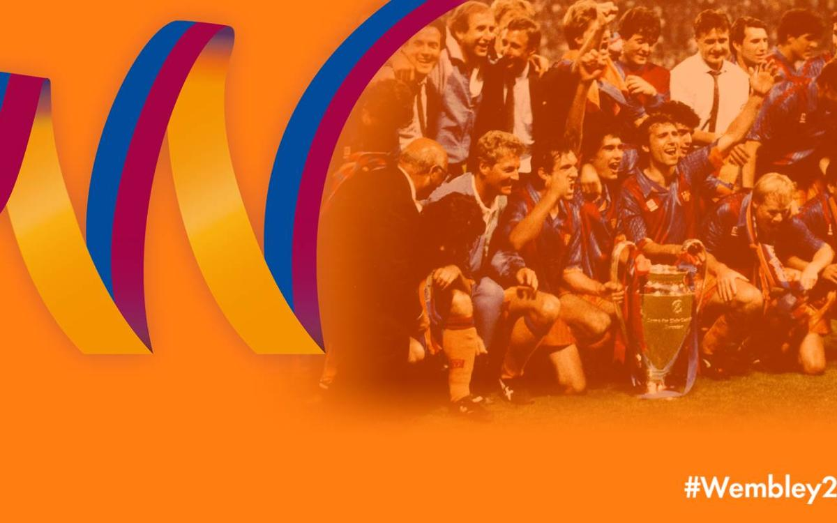25 years since FC Barcelona won its first European Cup at Wembley