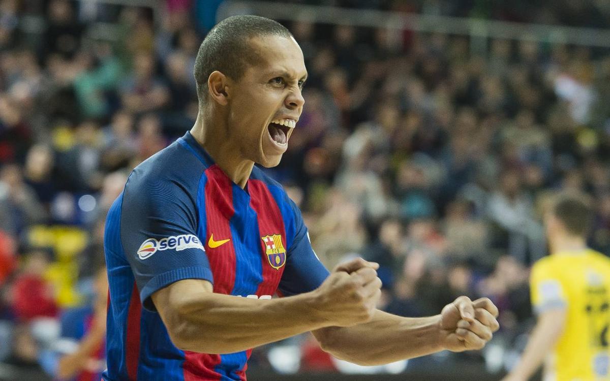 La temporada més golejadora de Ferrao al Barça
