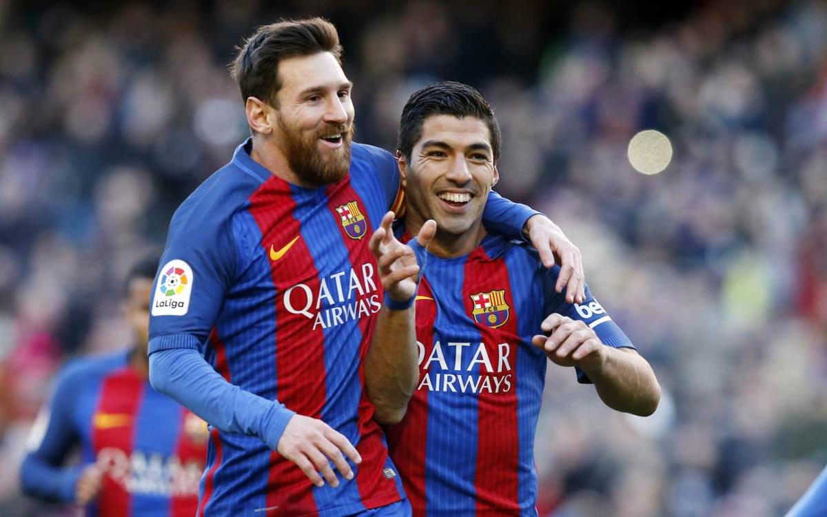 Leo Messi - Luis Suárez: Side by side in the scoring charts