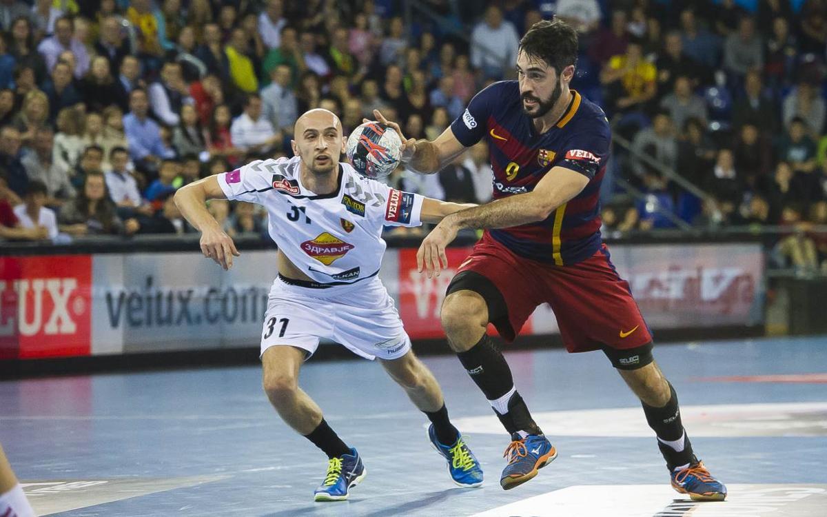 El Vardar serà el rival del Barça Lassa a les semifinals de la Champions