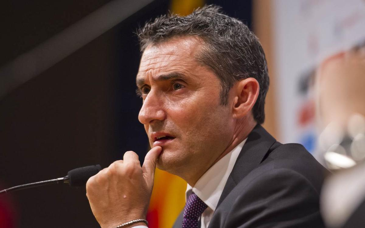 Ernesto Valverde, an experienced coach with Barça DNA