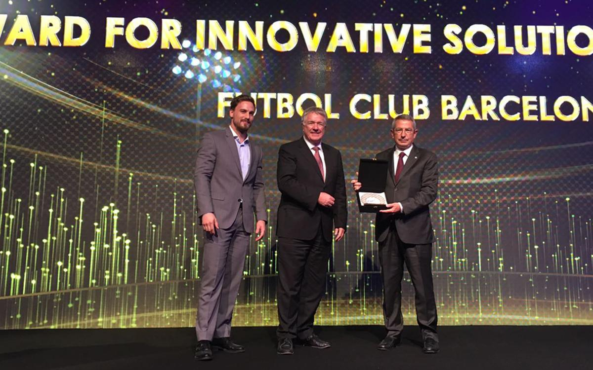 Camp Nou named world's best connected stadium at the World Stadium Congress in Doha