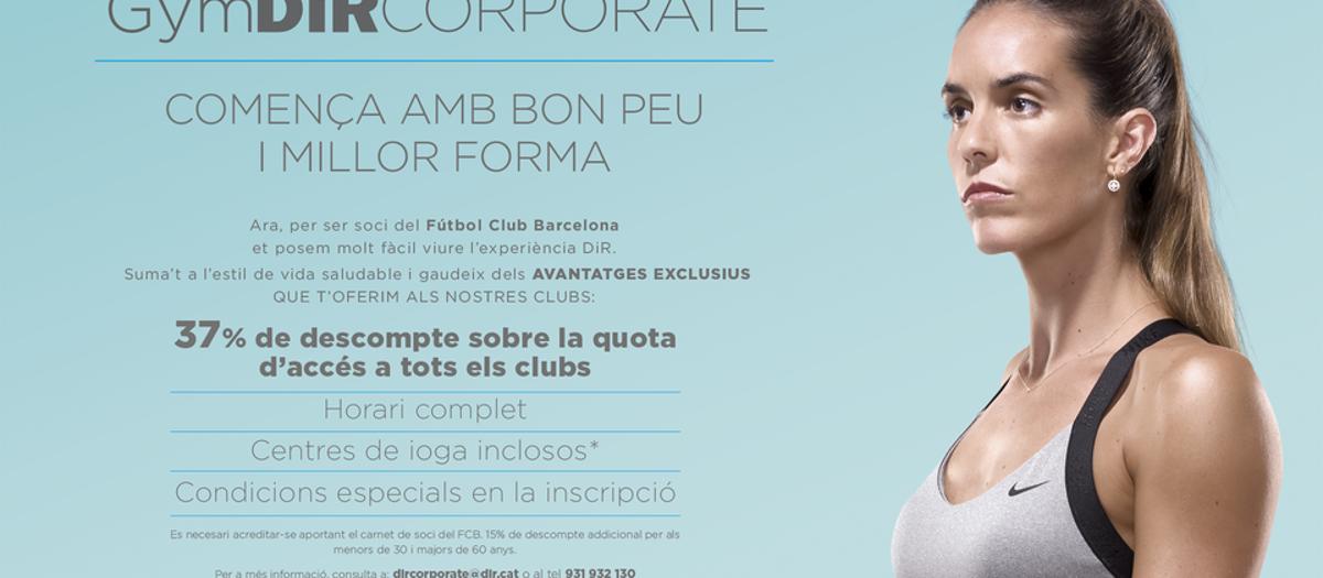 Descuento exclusivo para socios en el club de Fitness DIR