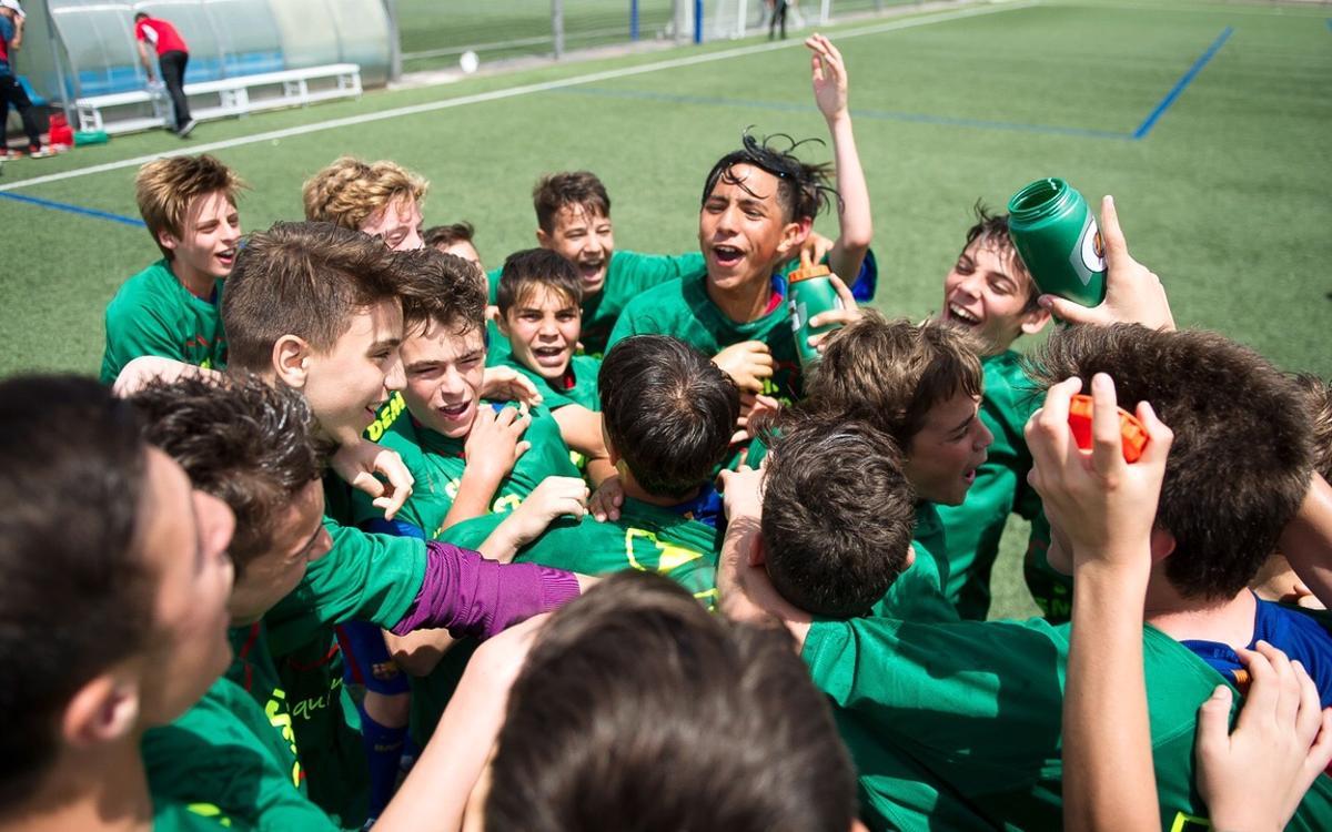 El Infantil B y el Alevín D se proclaman campeones