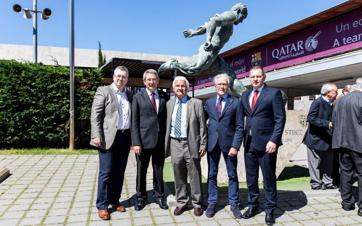 Presentación del libro dedicado a Ladislao Kubala 'Aquel por el que se construyó el Camp Nou'