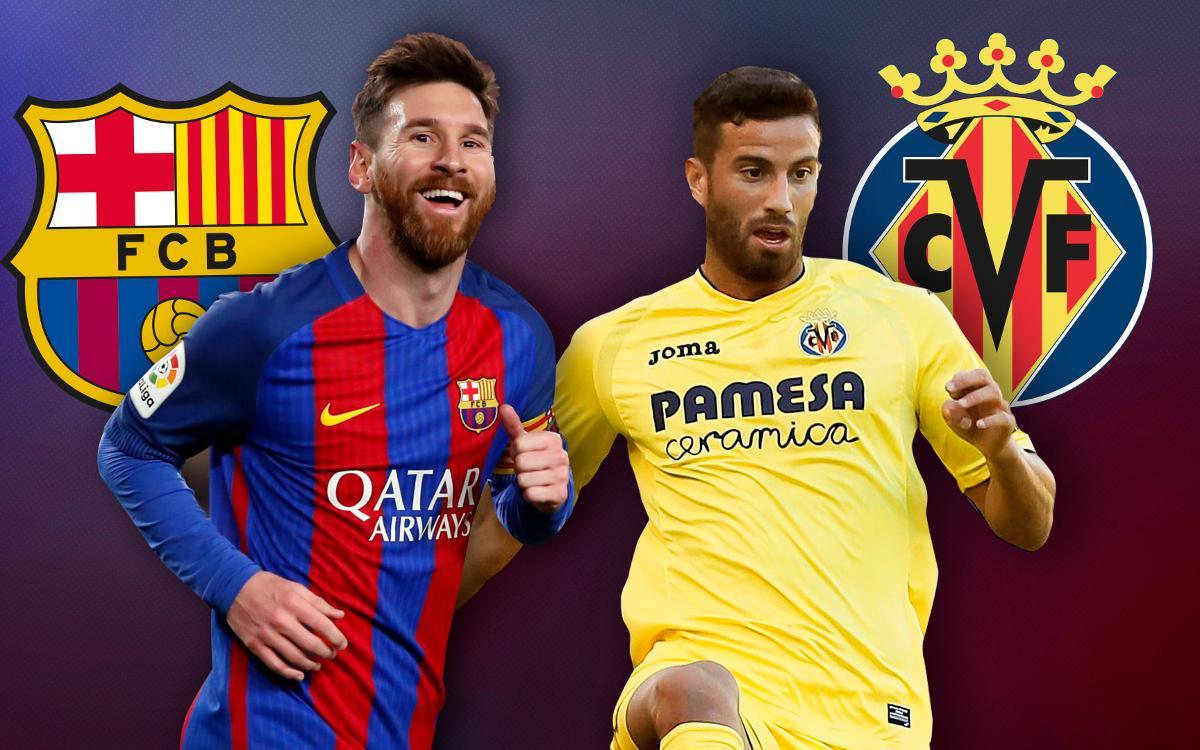 El FC Barcelona y el Villarreal: el mejor ataque contra la segunda mejor defensa