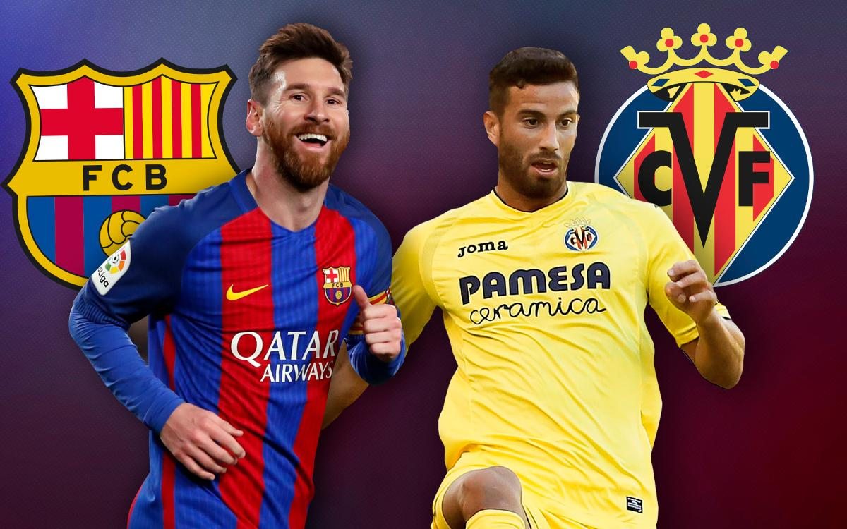 FCバルセロナとビジャレアル:リーガ最高の攻撃力 vs 2番目の守備力