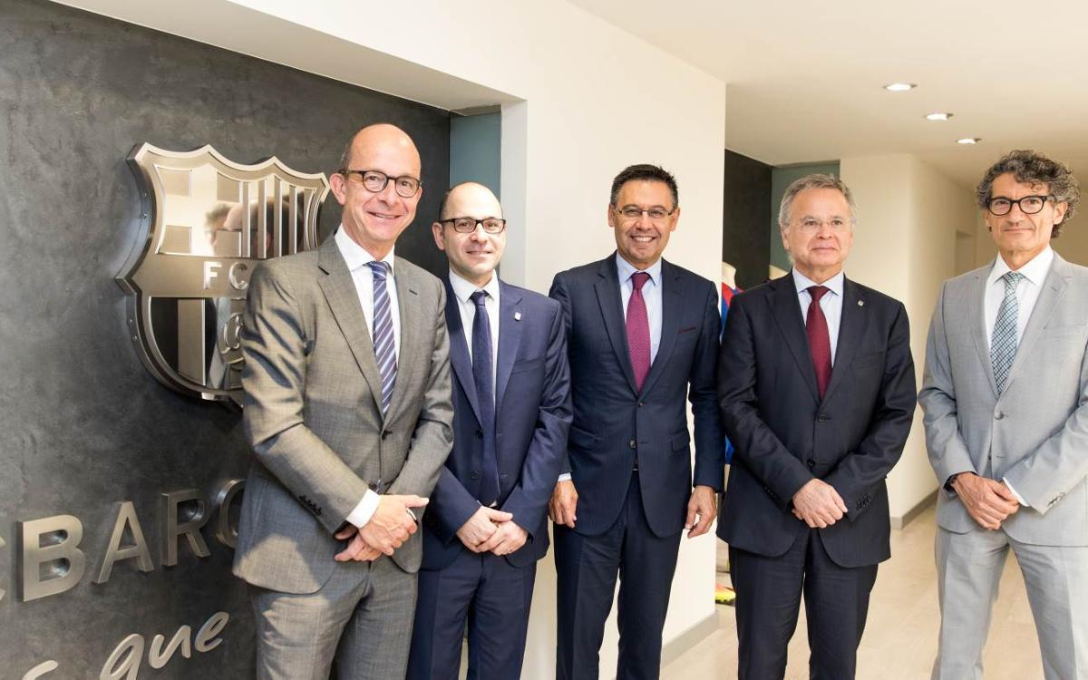 El FC Barcelona firma un convenio de colaboración con la Universidad de Barcelona (UB)