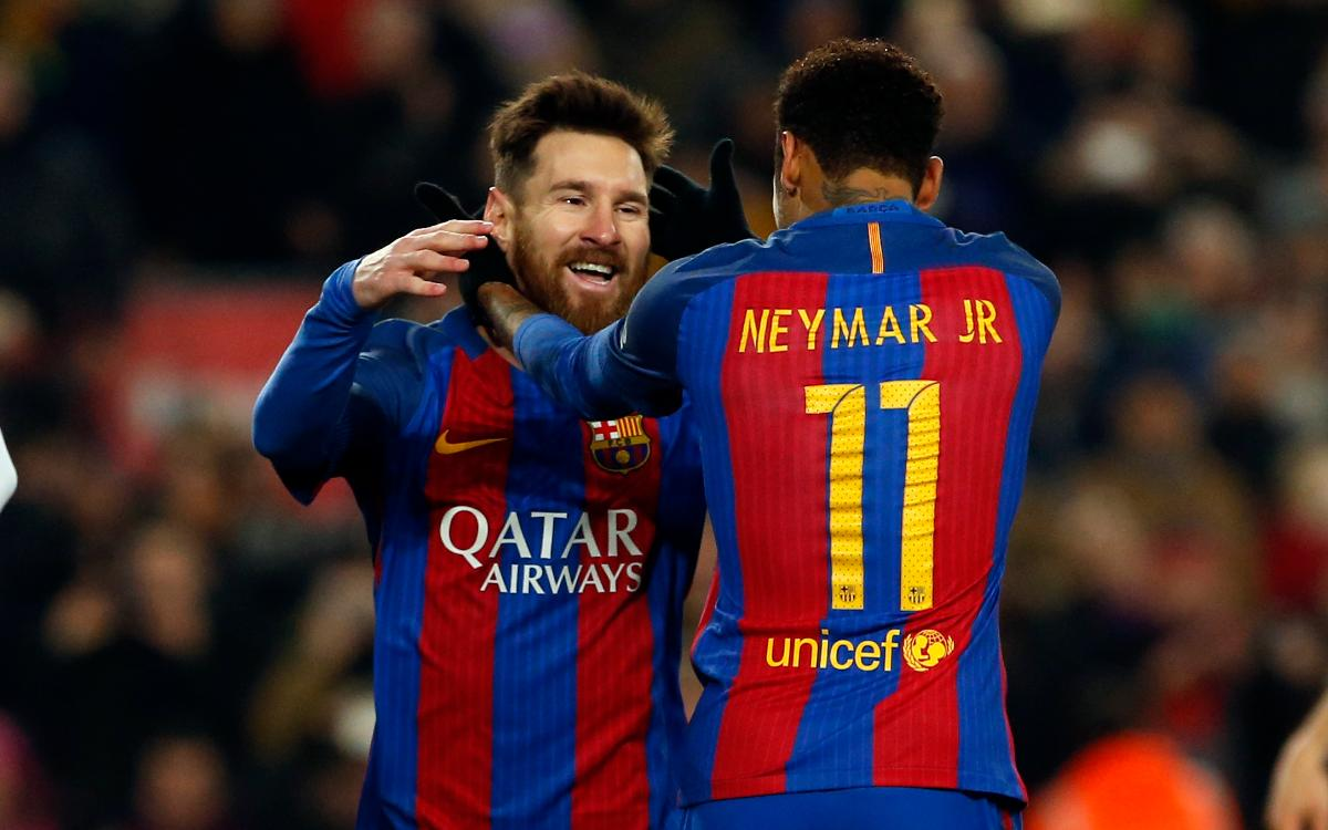 Neymar Jr: 'Messi is out of this world'