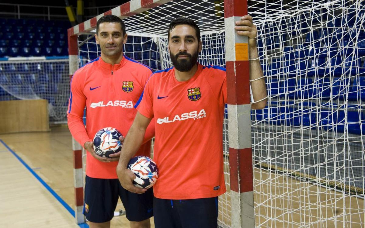 Lazarov y Valero Rivera: el gol al servicio de la Final Four