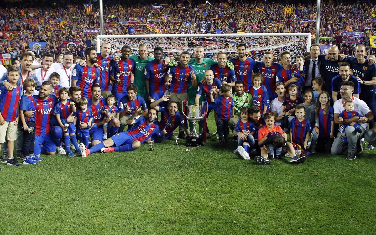 MATCH REPORT: FC Barcelona 3-1 Alavés: Copa Kings!