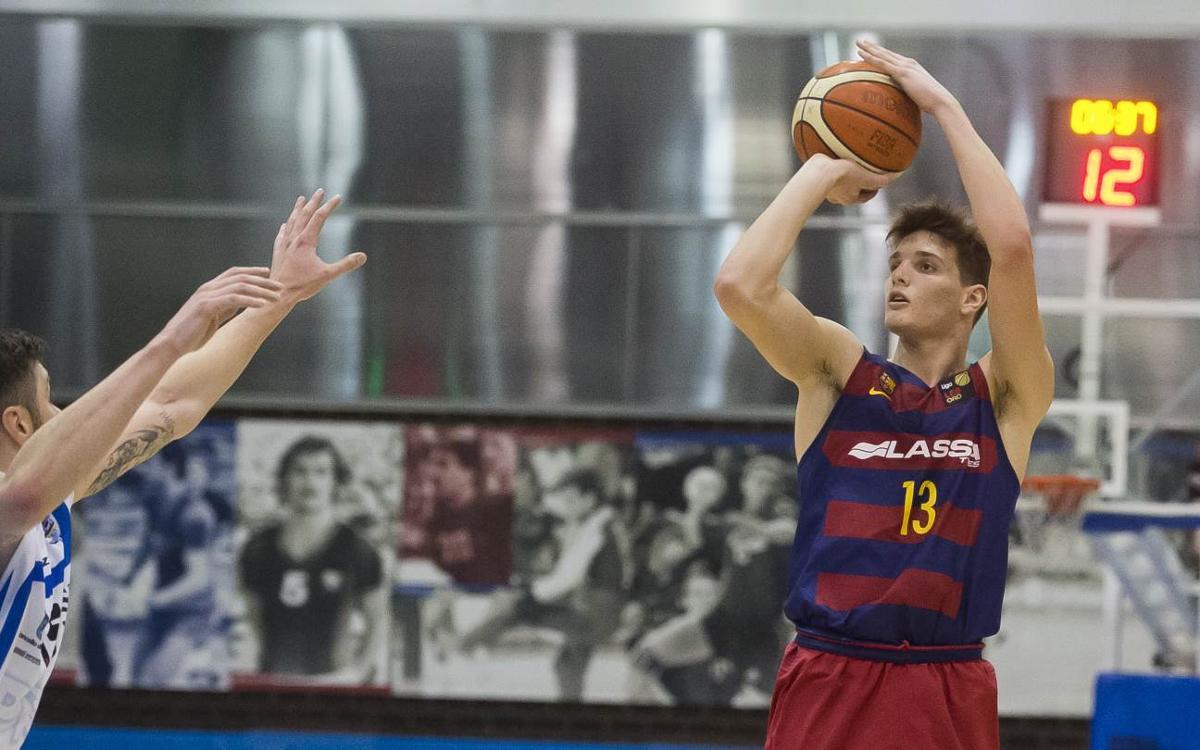 Sergi Martínez seguirà al Barça Lassa fins al 30 de juny del 2021