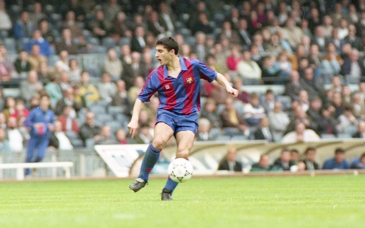 VIDEO: Ernesto Valverde's playing days at FC Barcelona