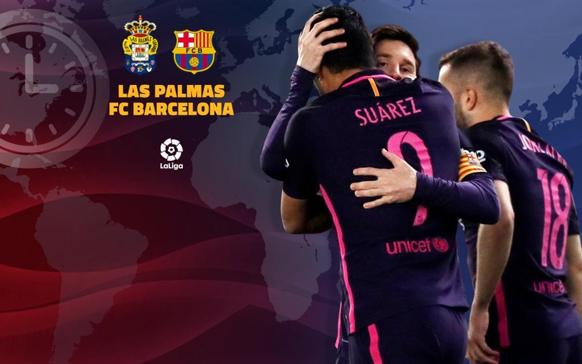 Quan i on es pot veure la UD Las Palmas – FC Barcelona