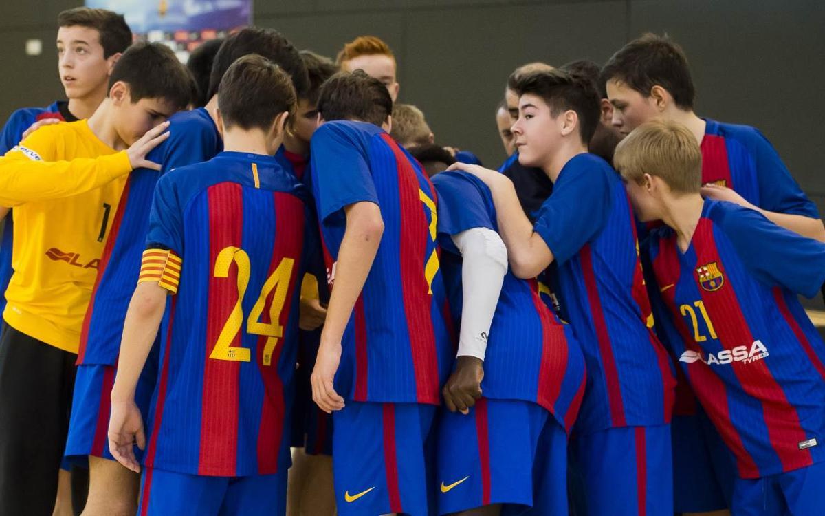 L'Infantil A, classificat per a la fase final del Campionat d'Espanya