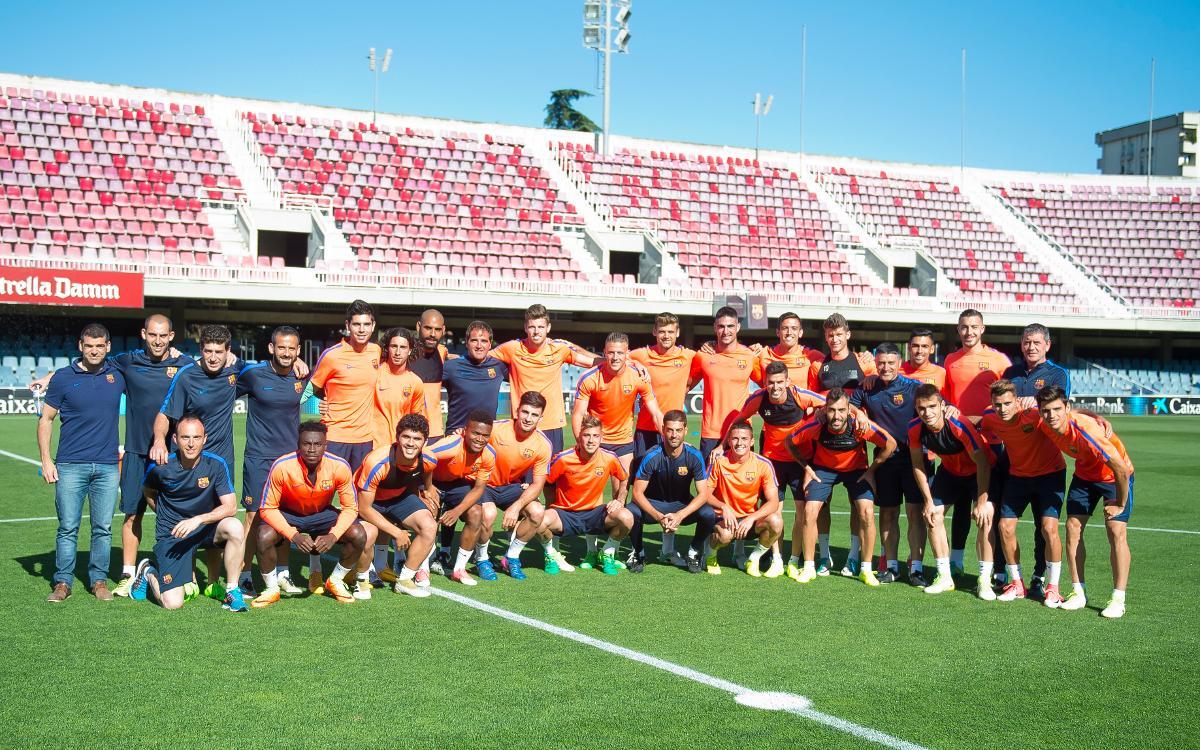 Barça B – CyD Lleonesa: Tot preparat per traçar el camí