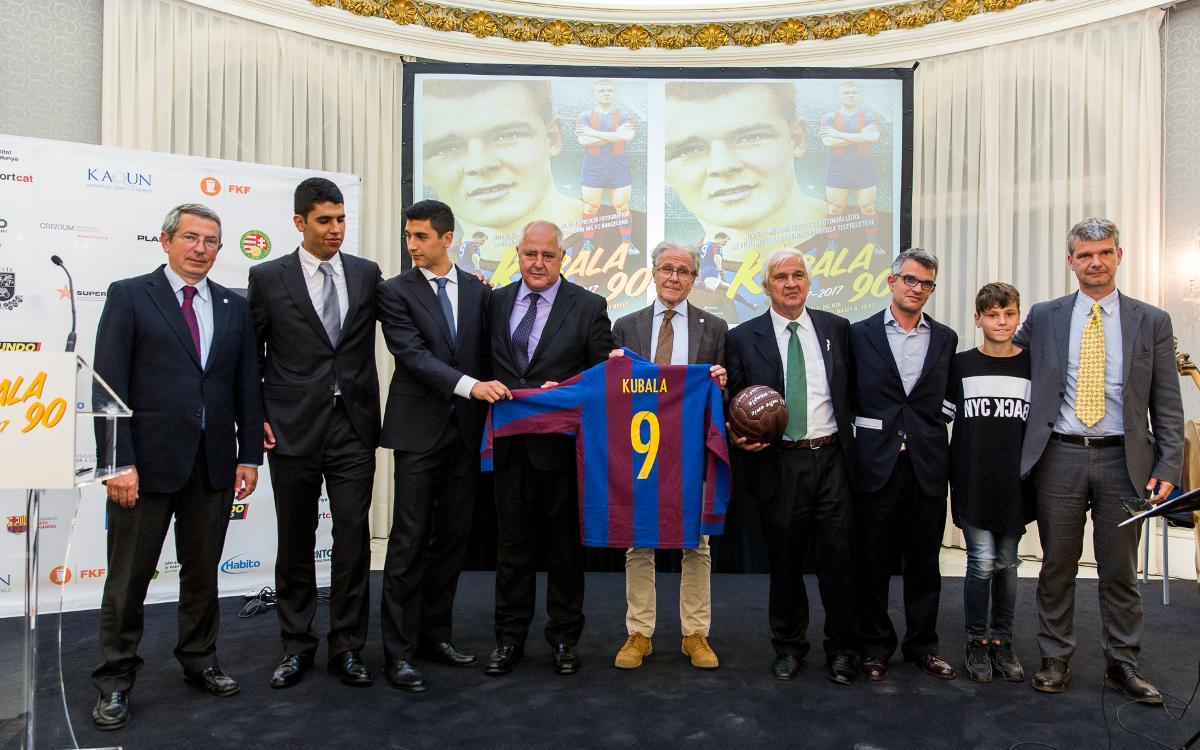 Commemoració del 90è aniversari del naixement de Ladislao Kubala