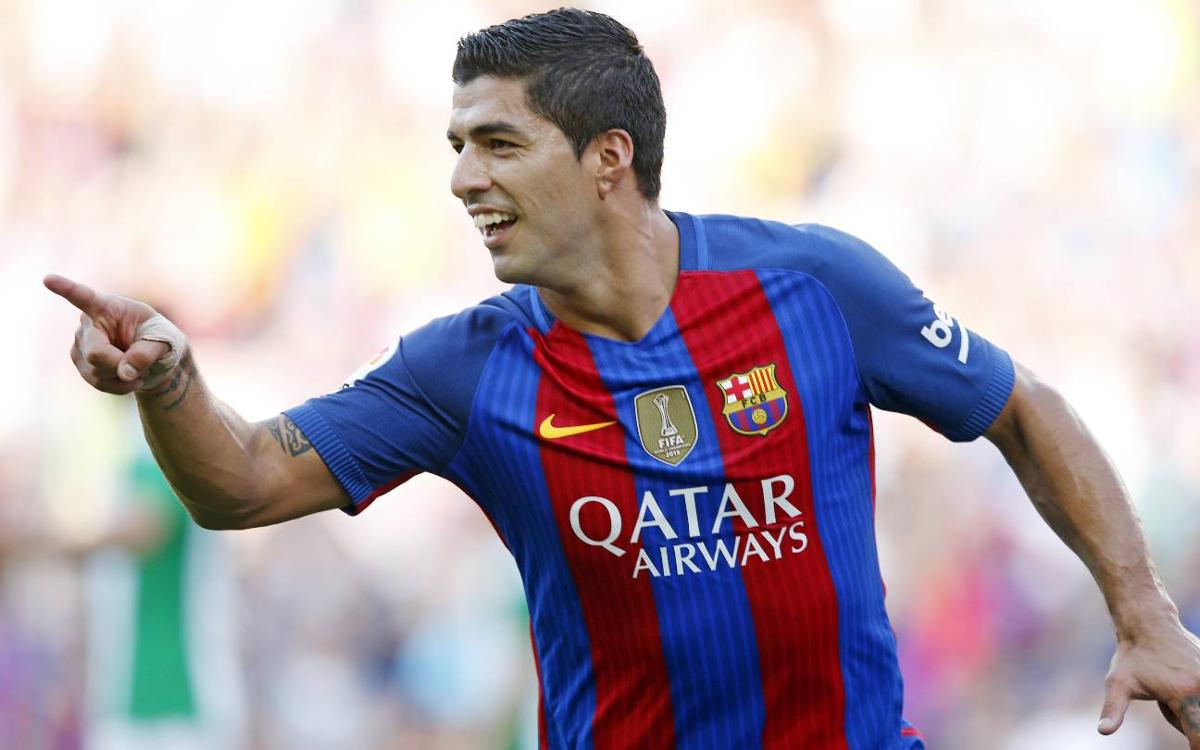 Luis Suárez leads La Liga with nine game-opening goals