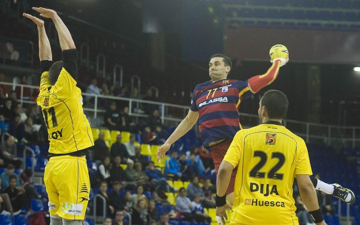 El Bada Osca, rival del FC Barcelona Lassa a la Copa del Rei