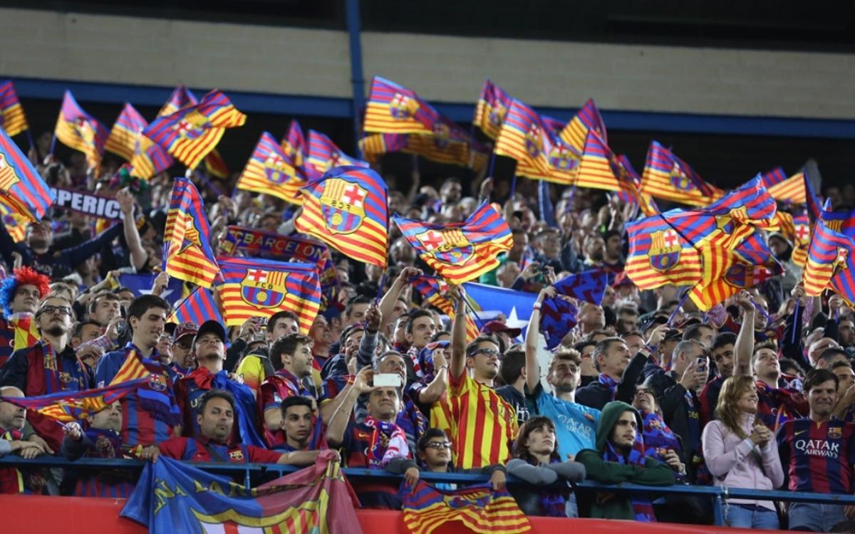 Inicio del periodo de compra de las entradas asignadas para la final de Copa