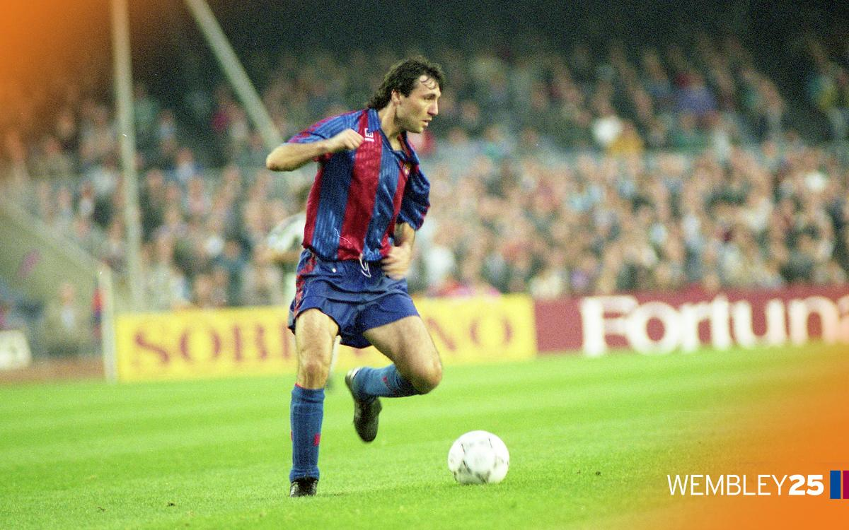 One of ours: Hristo Stoichkov
