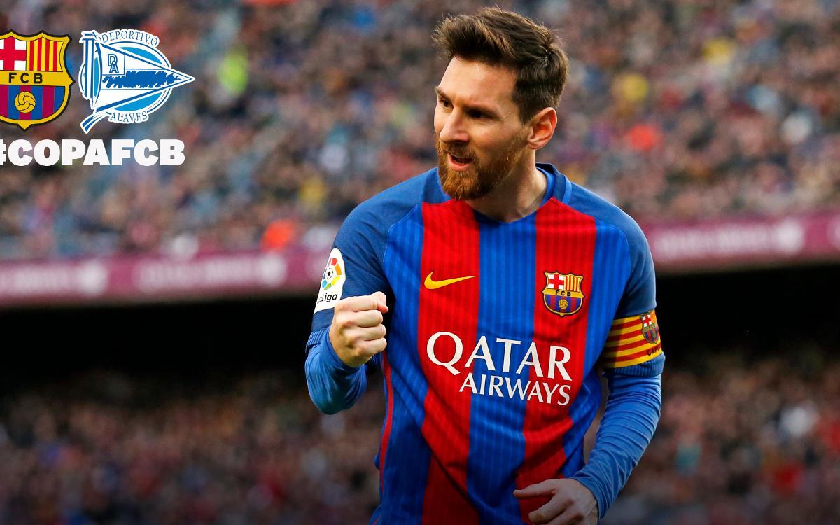 FC Barcelona – Alabès: El Rei de Copes en vol més