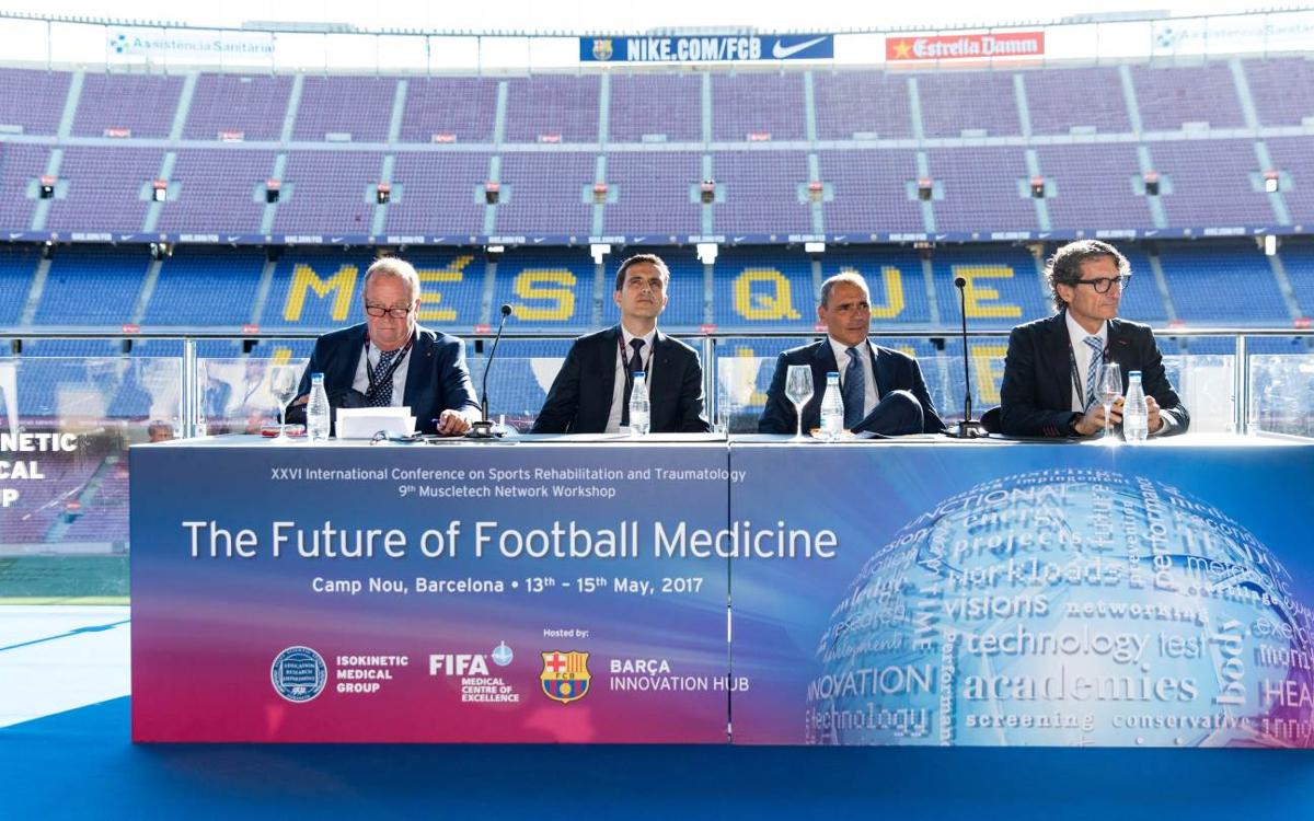 The Camp Nou hosts the most important congress for football medicine and science in the world