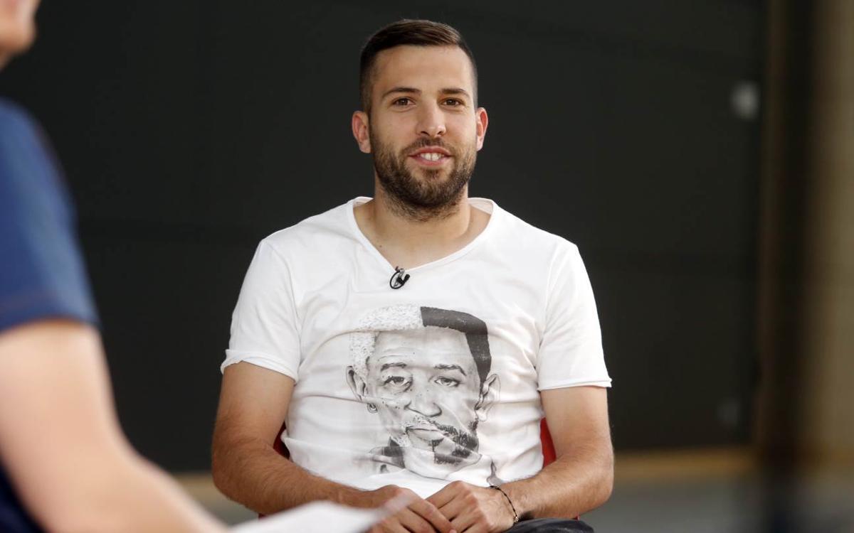 """Jordi Alba: """"Ens mereixem guanyar aquesta Copa"""""""