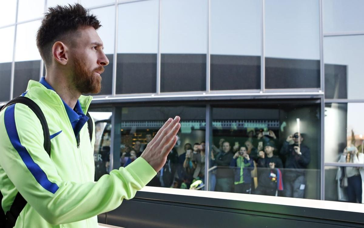What is a day in the life of Leo Messi like?