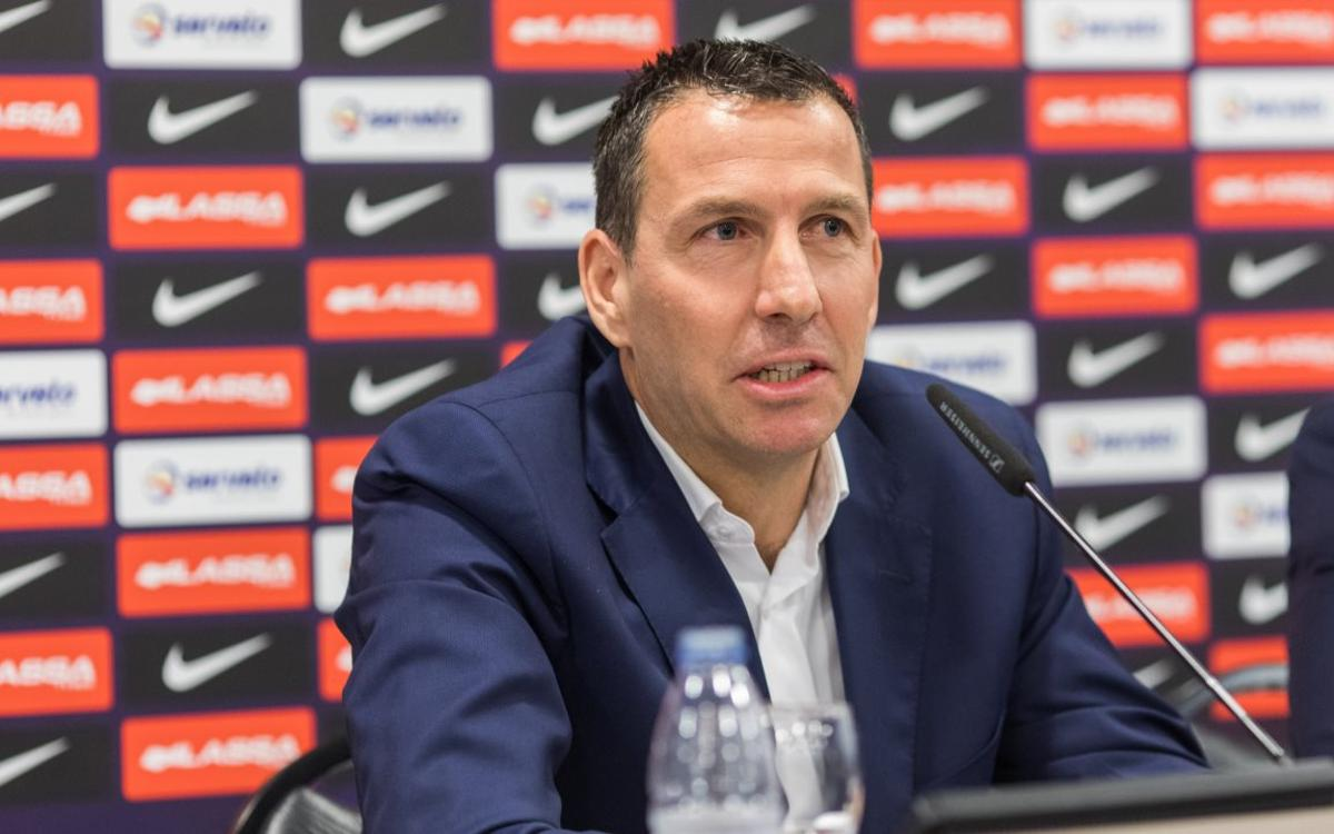 Nacho Rodríguez: We will work hard to restore the club's prestige