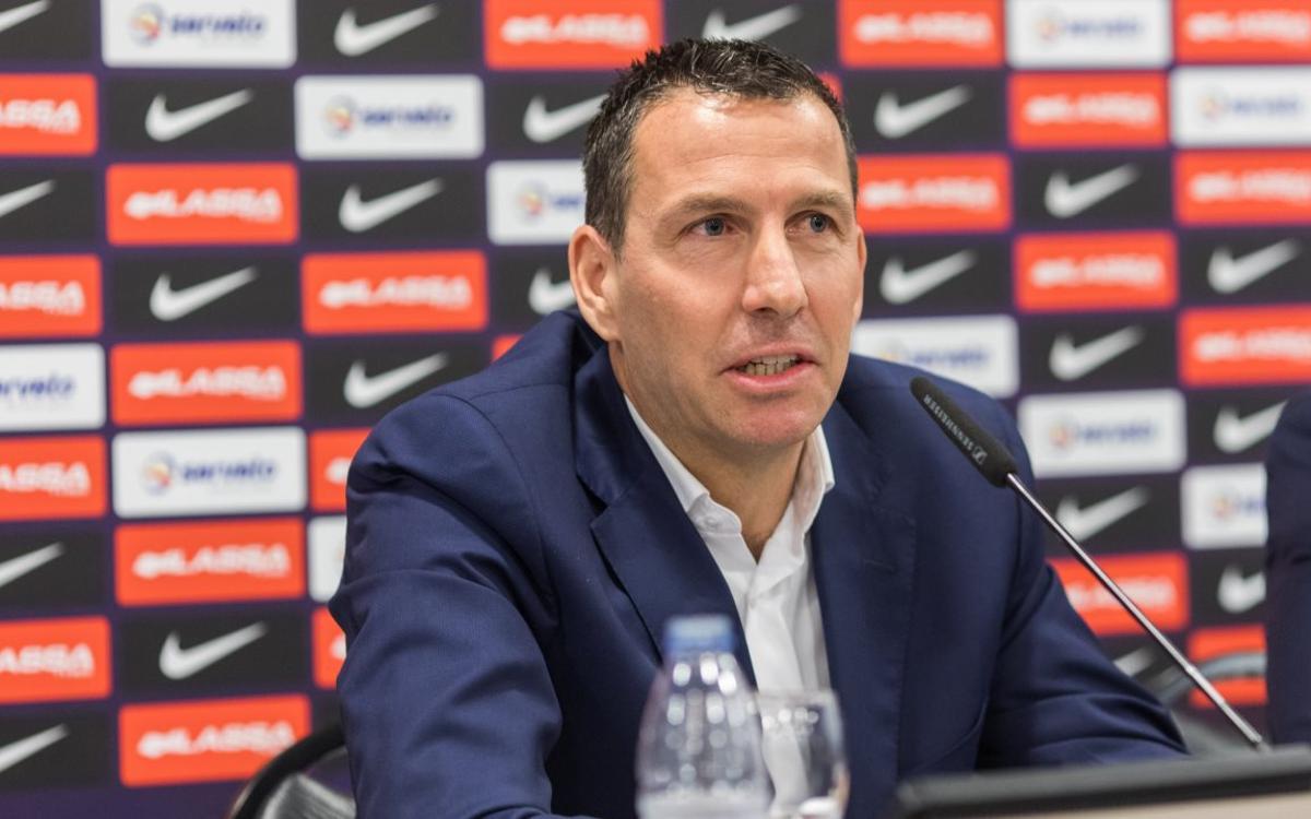 """Nacho Rodríguez: """"Treballarem molt dur per recuperar el prestigi del Barça"""""""