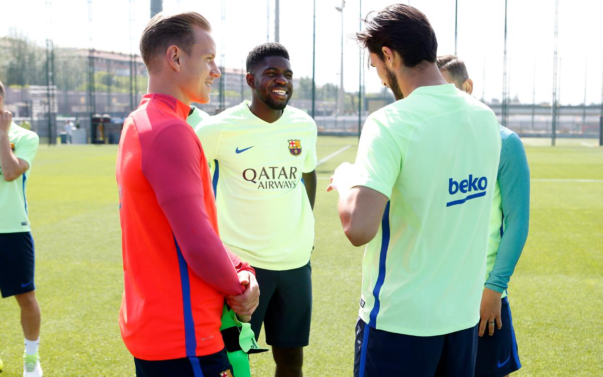 Back to work to prepare for Eibar