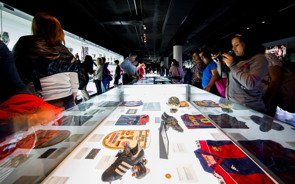 El FC Barcelona se suma a la Nit dels Museus