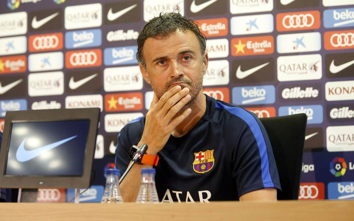 Luis Enrique: We're ready for a key game