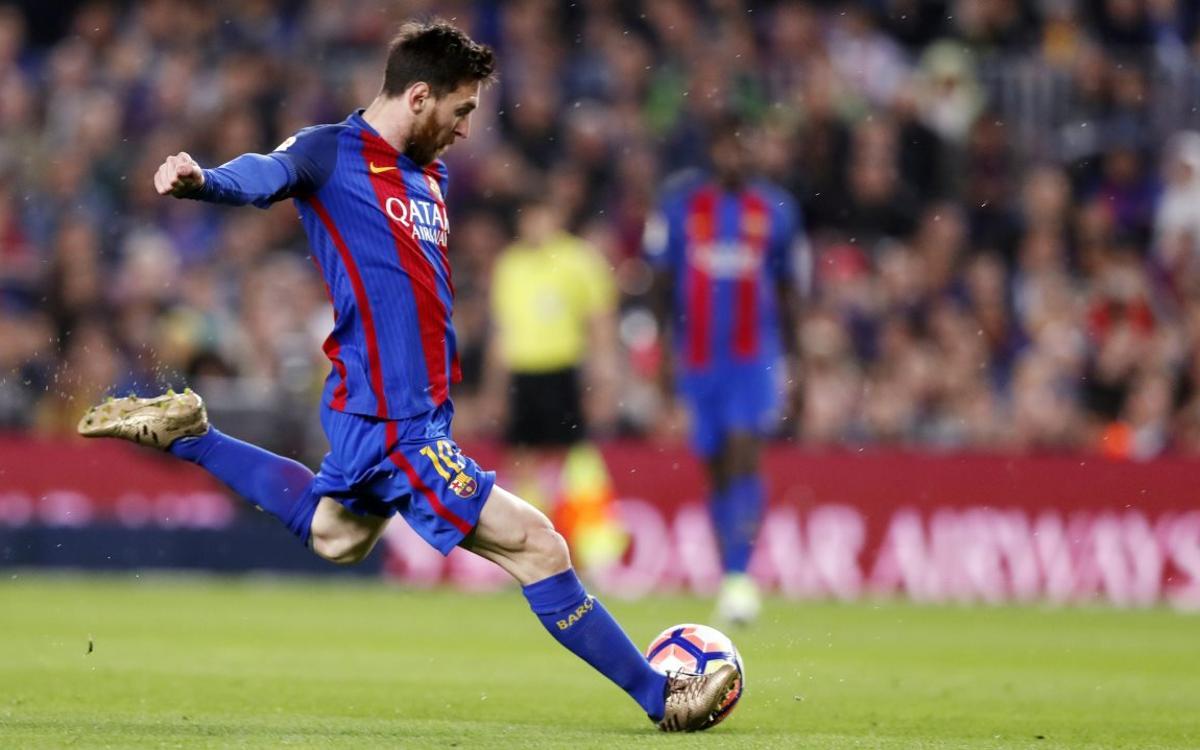 Messi recupera el liderato de la Bota de Oro