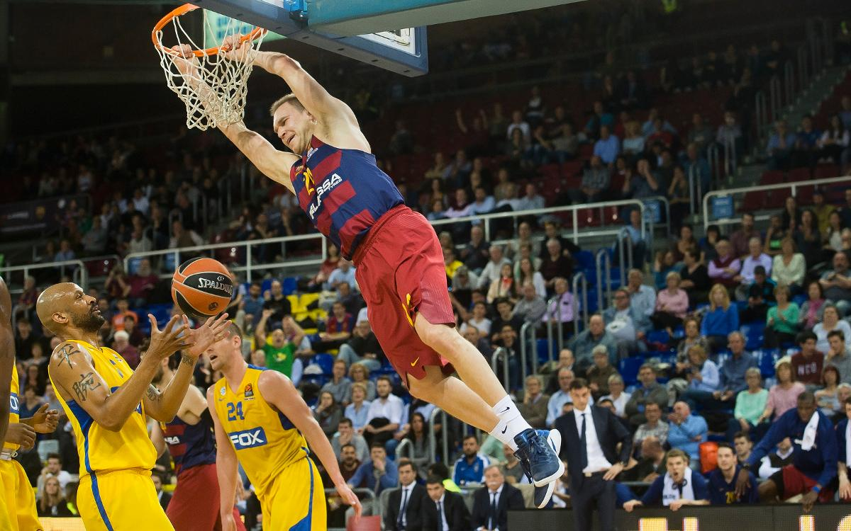 FC Barcelona Lassa 76-71 Maccabi Fox Tel Aviv: Winning end to Euroleague at the Palau (76-71)