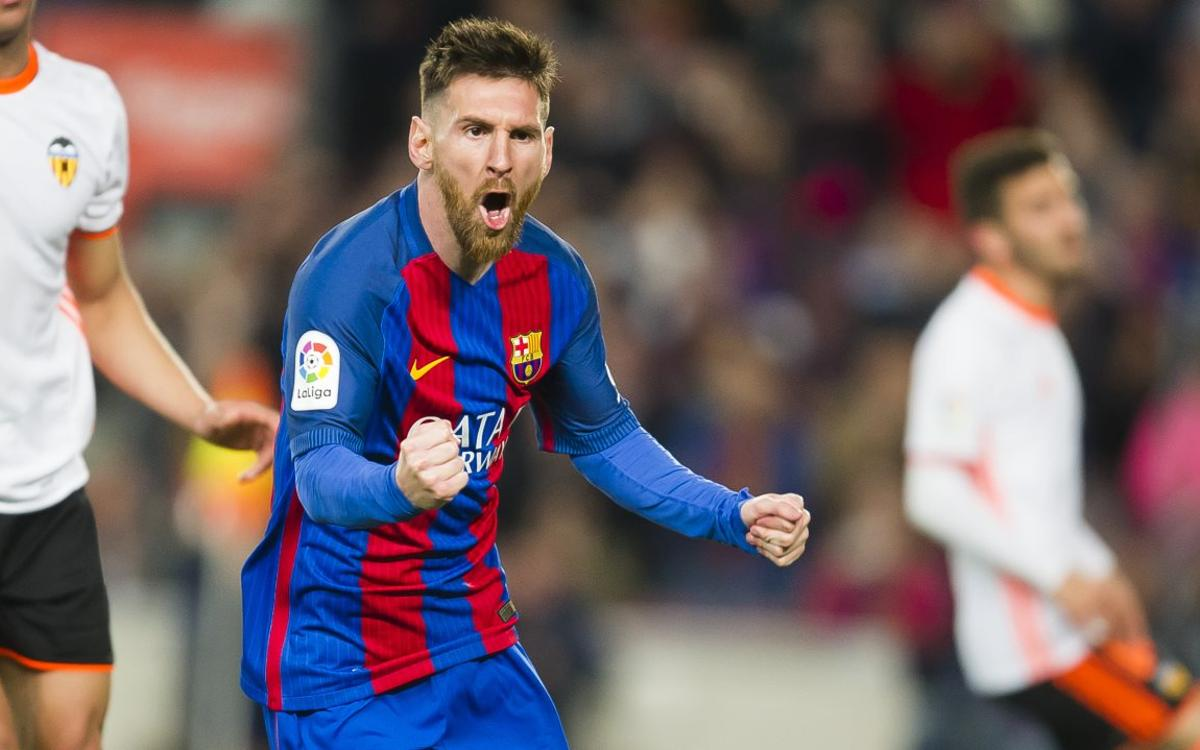 Leo Messi scores 40 goals for eighth year running