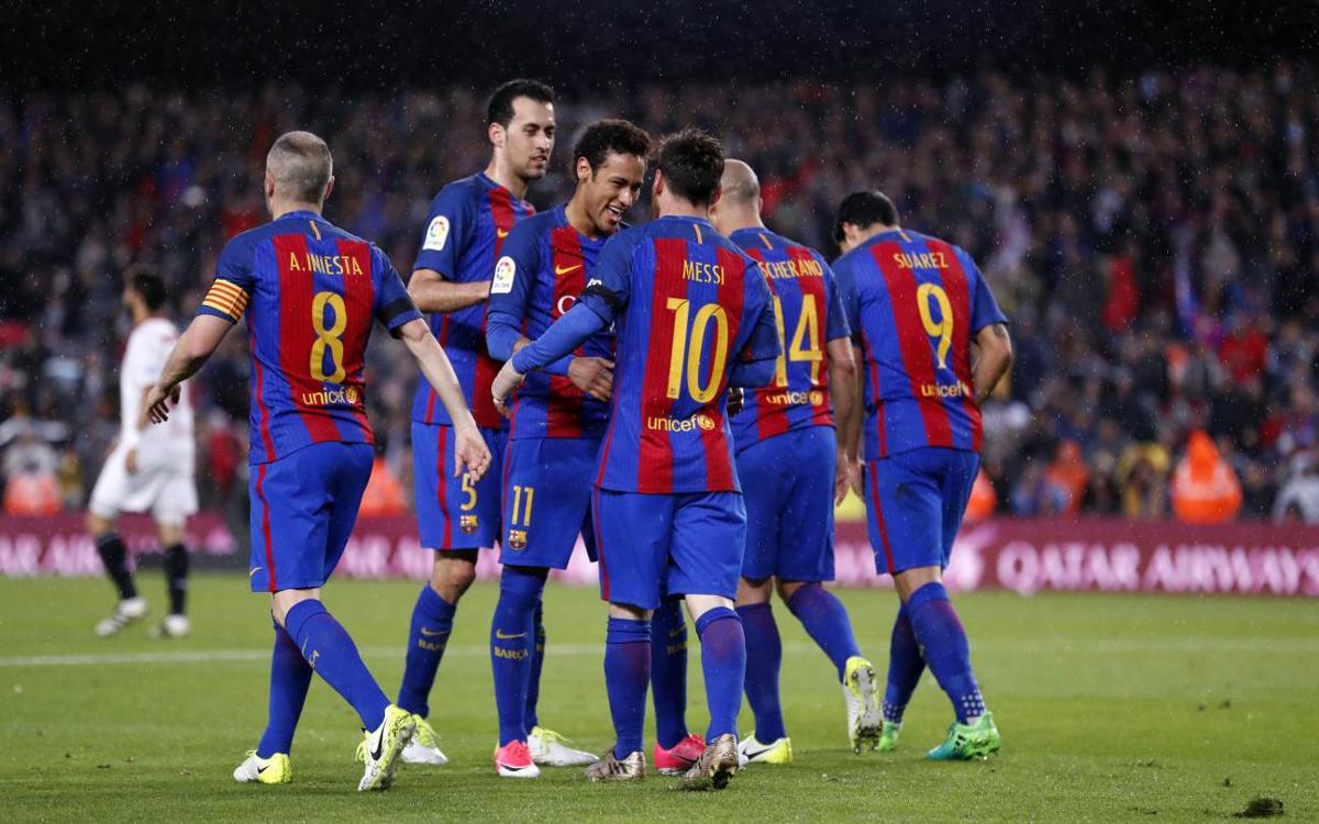 El FC Barcelona assoleix les 800 victòries de Lliga al Camp Nou