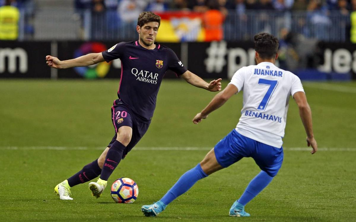 Vidéo : Le résumé de Malaga - FC Barcelone (2-0)