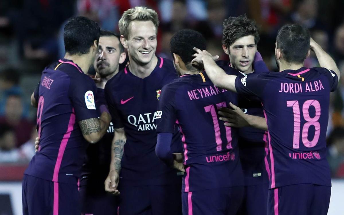 Undécima victoria en 12 partidos contra el Granada