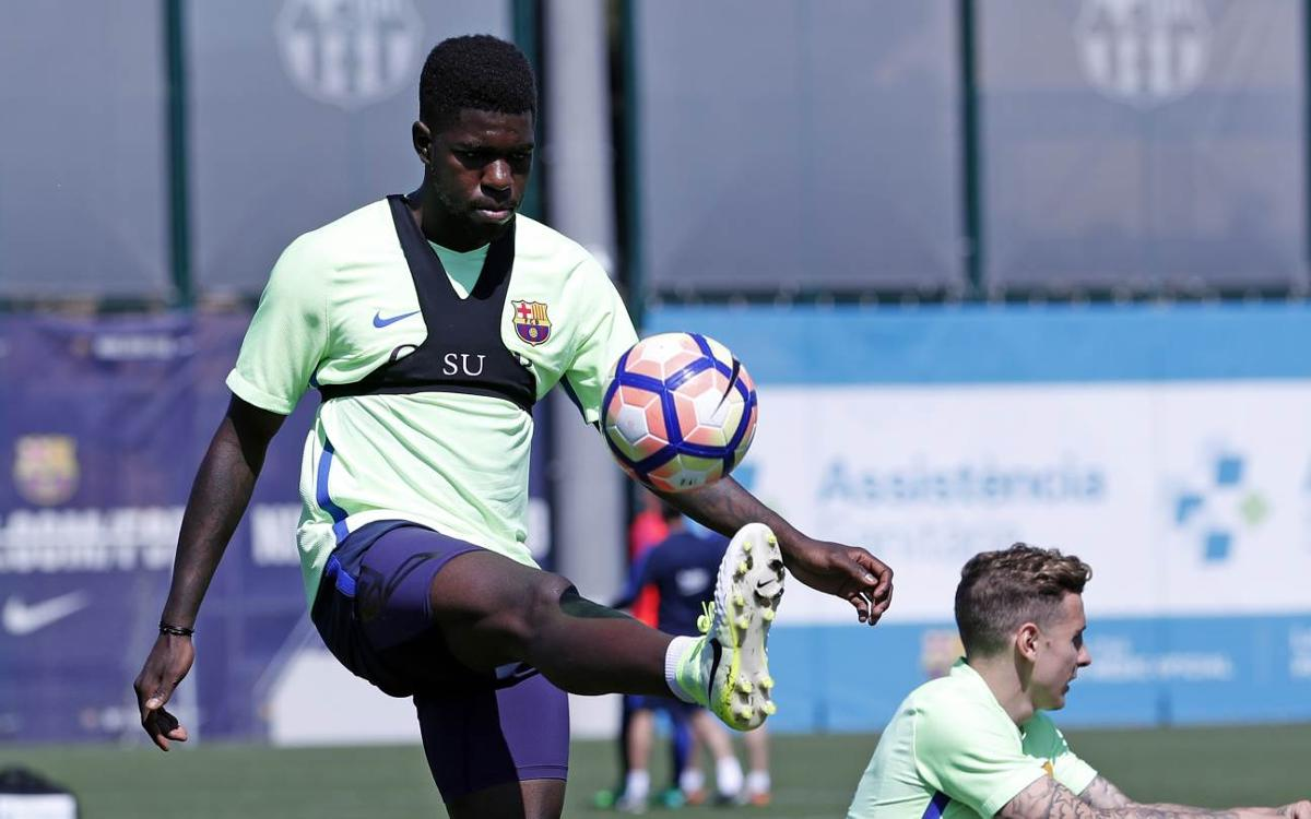 A day with Umtiti, on Instagram