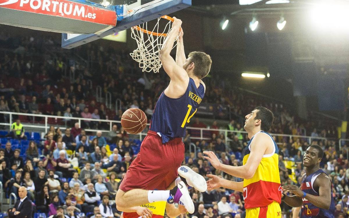 FC Barcelona Lassa - MoraBanc Andorra: Exhibición ofensiva (102-65)