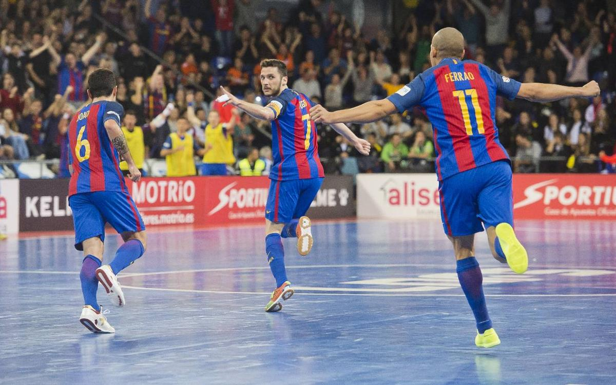 FC Barcelona Lassa v Movistar Inter: Closer to the top (6-3)
