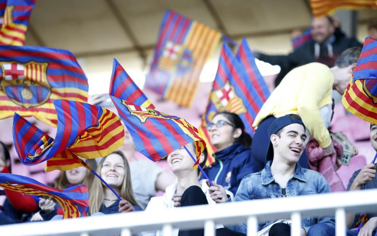 FC Barcelona Femenino - París Saint-Germain: Entradas anticipadas gratuitas en taquillas y por Internet desde este lunes