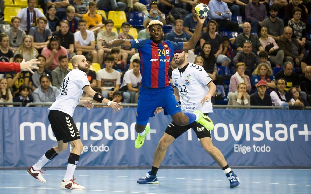 FC Barcelona Lassa - BM Sinfín: Victòria incontestable (39-25)