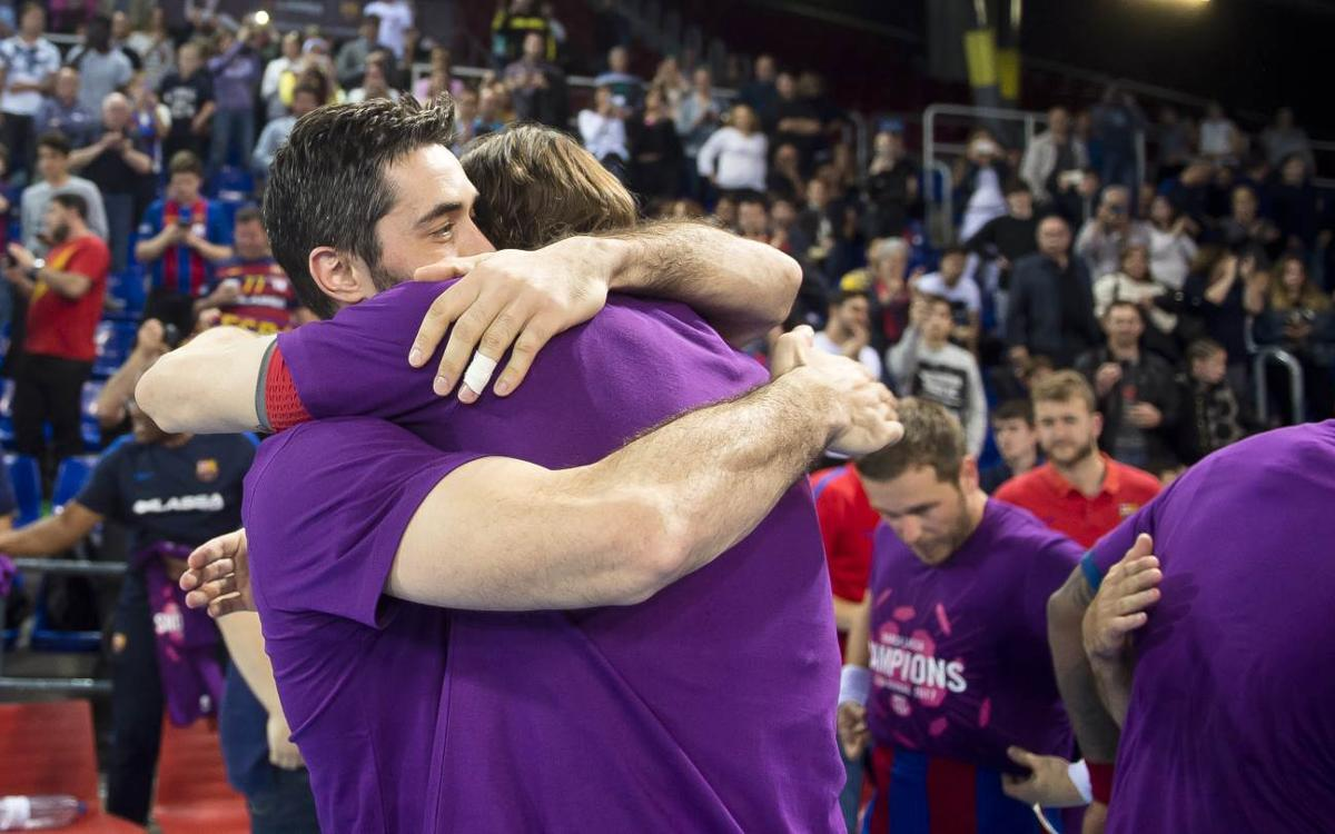 Match Report FC Barcelona Lassa v Bidasoa Irun: Asobal League Champions! (39-25)