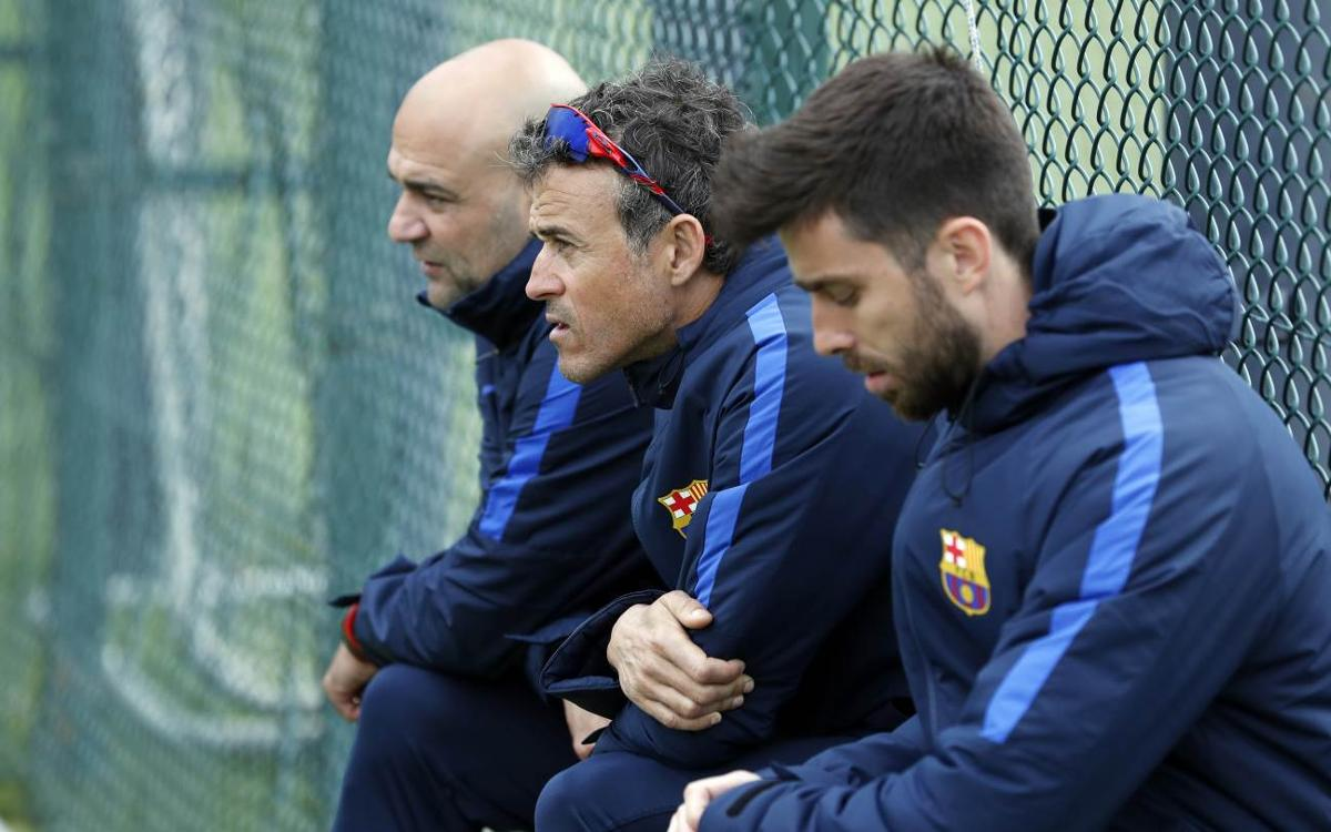 Luis Enrique: 'The most testing moments are coming up'