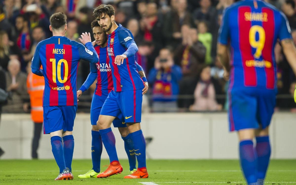 FC Barcelona's win over Valencia, by the numbers