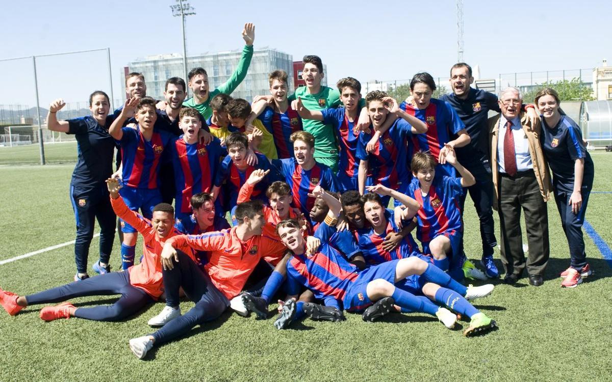 El Cadete B y el Benjamín B, campeones de Liga