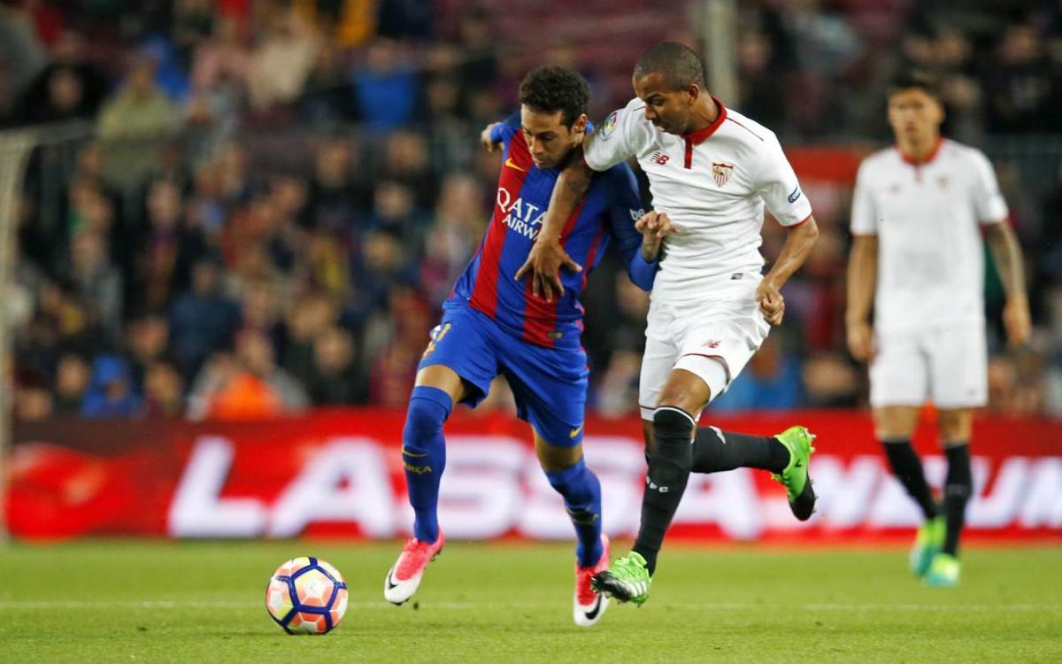 Vidéo - Quatre actions du FC Barcelone contre Séville, venues d'un autre monde